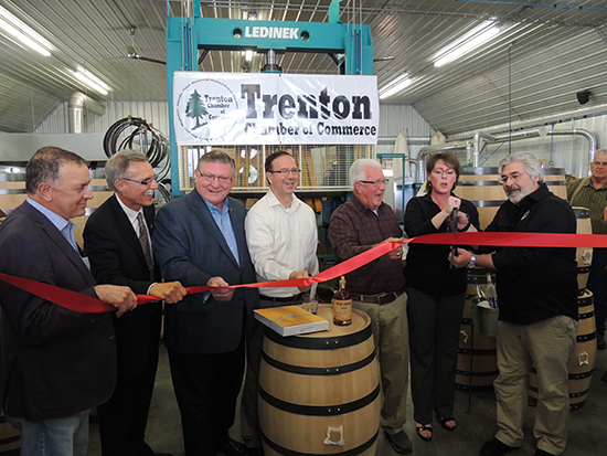 Business After Hours And Grand Opening Celebration At Adirondack Barrel Cooperage